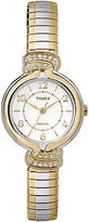 Timex Women's Anna Avenue | Two-Tone w Swarovski Crystals Dress Watch TW2P61200