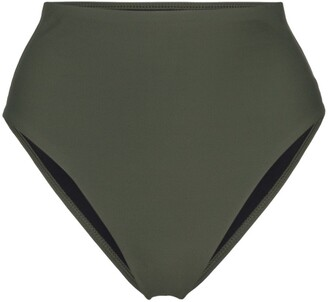 BONDI BORN Paloma high-waist bikini bottoms