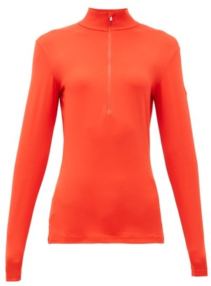 Fusalp - Gemini Iii Half-zip Mid-layer Top - Womens - Red