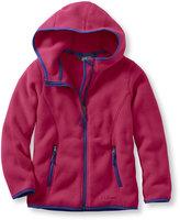 L.L. Bean Girls Trail Model Fleece Jacket, Hooded