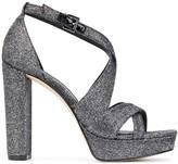 MICHAEL Michael Kors Lorene glitter platform sandals