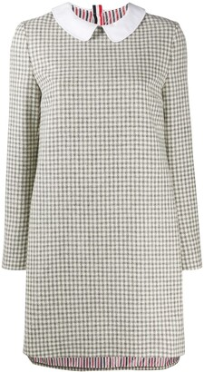 Thom Browne Check-Print Shift Dress