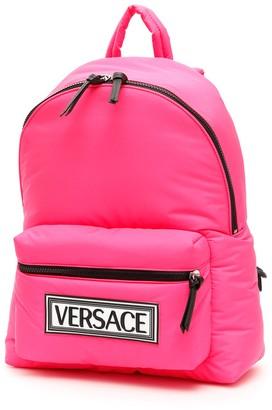 Versace 90s Vintage Logo Patch Backpack