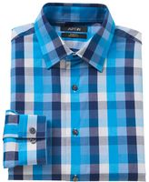 Apt. 9 Men's Modern-Fit Patterned Stretch Dress Shirt