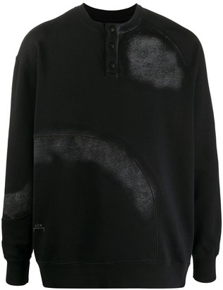 A-Cold-Wall* Button Detailed Sweatshirt