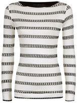 Pinko Striped Long Sleeve Top