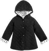 First Impressions Hooded Reversible Quilted Cotton Jacket, Baby Girls (0-24 months), Created for Macy's