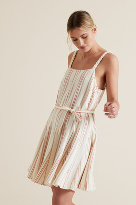 Seed Heritage Striped Swing Dress
