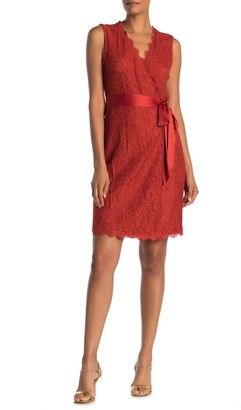 Diane von Furstenberg Juliana Lace Wrap Dress