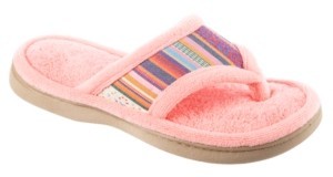 Isotoner Signature Isotoner Women's Microterry Renae Thong Slipper, Online Only