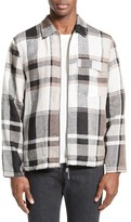 Our Legacy Tech Plaid Zip Front Jacket