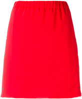 Kenzo button detail skirt - women - Polyester - 36