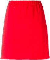 Kenzo button detail skirt