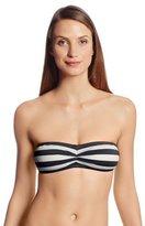 Juicy Couture Women's Boho Stripe Bandeau Bikini Top