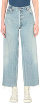 RE/DONE Wide-leg high-rise jeans