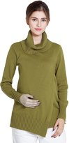 Sweet Mommy Organic Cotton Tutleneck Knit Tunic Top