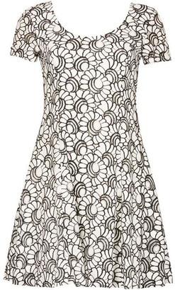 Izabel Embroidered Floral Lace Dress