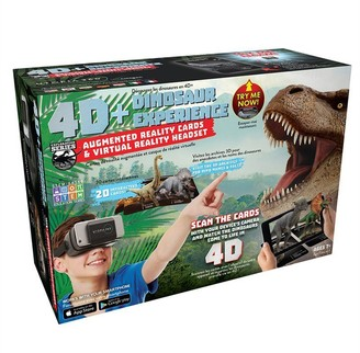 Emerge Technologies AR Cards and VR Headset Dino Bundle