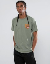 MHI Embroidered Platoon Tiger T-Shirt