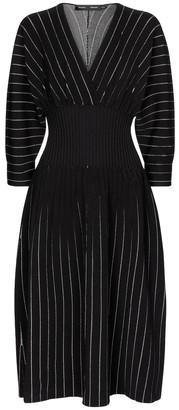 Proenza Schouler Chalk Stripe knit dress