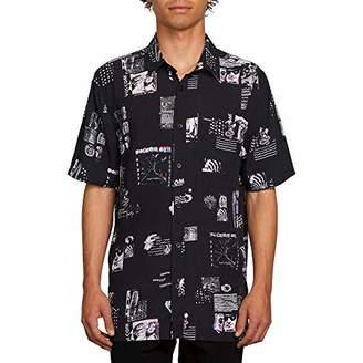 Volcom Men's Speak to You Button Up Short Sleeve Shirt