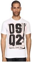 DSQUARED2 Chic Dan Fit Soft Print Logo T-Shirt