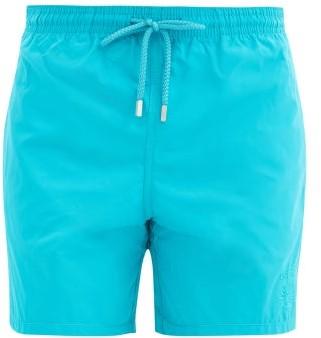 Vilebrequin Moorea Aqua-reactive-shell Swim Shorts - Light Blue