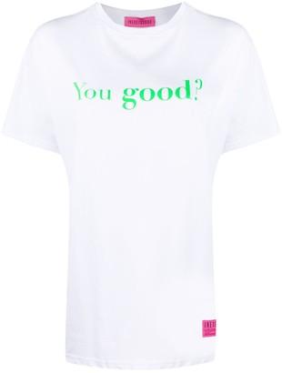 Ireneisgood You Good cotton T-shirt