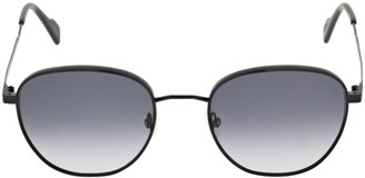 Andy Wolf Turner Round Metal Sunglasses