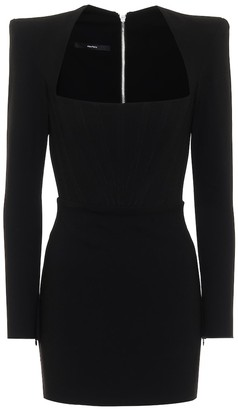 Alex Perry Benison crepe minidress