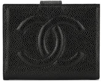 Chanel Pre Owned 1997 CC stitch wallet