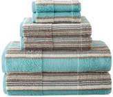 JCP HOME JCPenney HomeTM Farmhouse Stripe Bath Towels