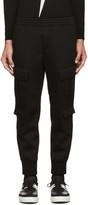Neil Barrett Black Cargo Lounge Pants