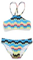 Pilyq Toddler Girl's Two-Piece Swimsuit