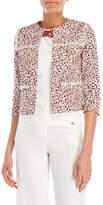 Les Copains Leopard Print Blazer