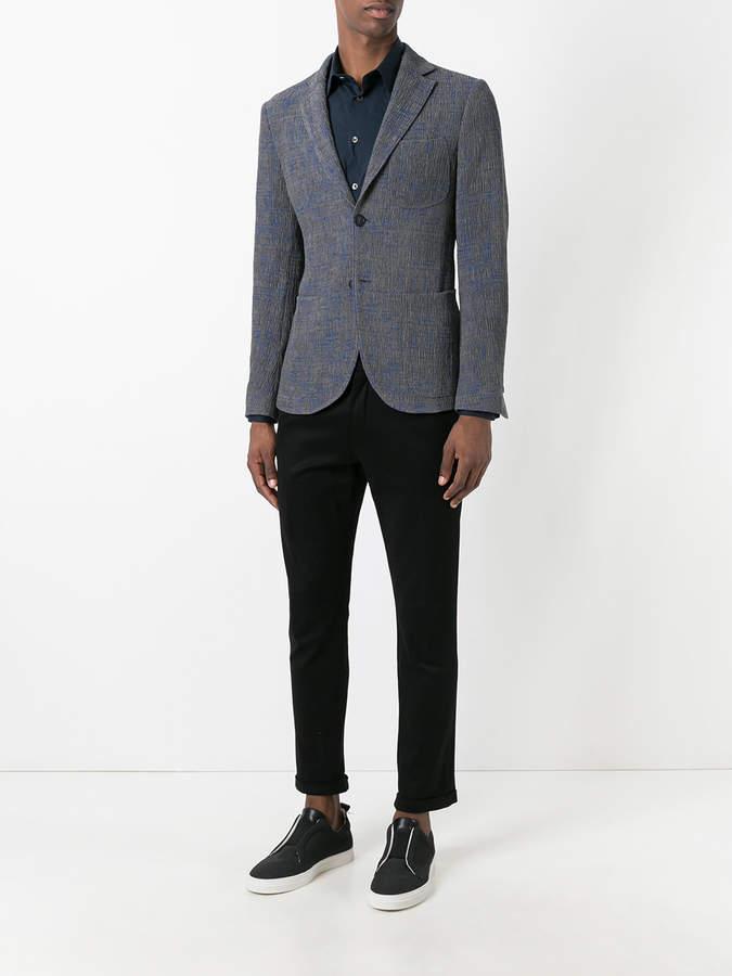 Giorgio Armani patch pockets blazer