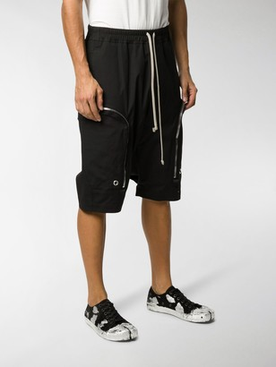 Rick Owens Cargo knee-length shorts