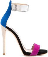 Giuseppe Zanotti Design strappy sandals - women - Leather/Suede - 36.5
