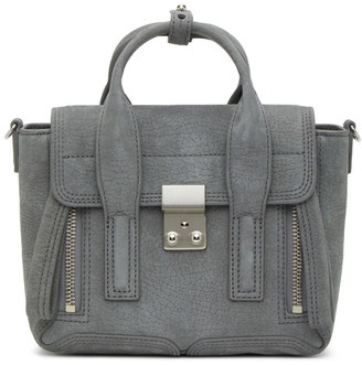 3.1 Phillip Lim Grey Mini Pashli Bag