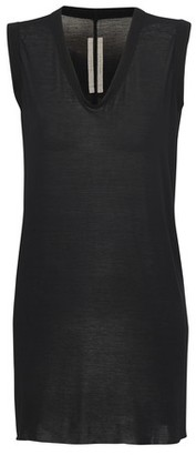 Rick Owens Silk Mix T-Shirt
