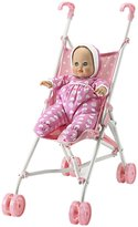 Madame Alexander Baby Goes For A Ride Stroller & Doll