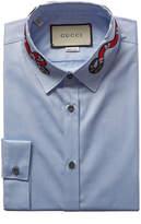Gucci Oxford Duke Kingsnake Dress Shirt