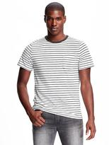 Old Navy Linen-Blend Pocket Tee for Men