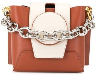 Yuzefi Chain-Strap Leather Shoulder Bag