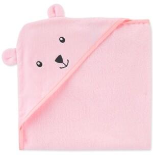 Carter's Baby Girls Hooded Cotton Bear Towel
