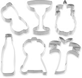 Williams-Sonoma Williams Sonoma Stainless-Steel BBQ Cookie Cutters, Set of 6