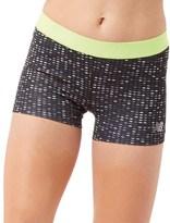 New Balance Womens Accelerate Printed Running Hot Shorts Black Digital Ovals