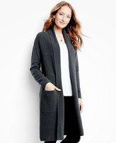 Women's Silk-Touched Long Cardigan