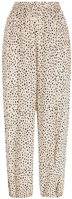 Nk Silk Printed Trousers