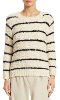 Vince Fuzzy Striped Sweater